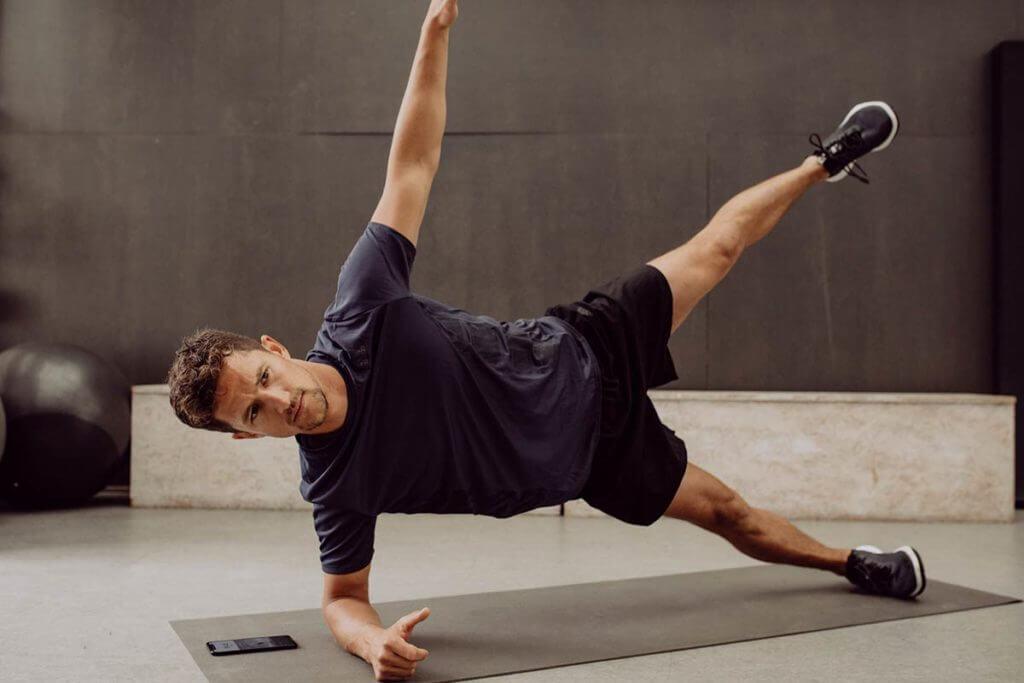 exercices gainage abdos planche