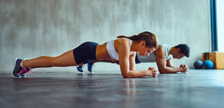 exercices abdos gainage sport